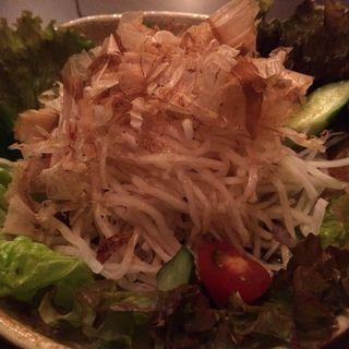 大根サラダ(居酒屋えがお)