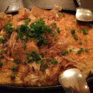 豆腐ステーキ(居酒屋えがお)