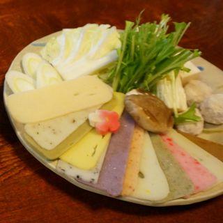 餅しゃぶ(町屋 清水庵 (まちや せいすいあん))