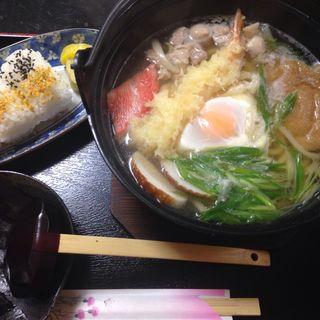 鍋焼きうどん定食(四季 )
