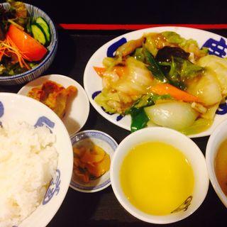 中華定食八宝菜(中華飯店てんじく 西明石店 )
