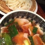 京都ポークと九条葱のつけ麺