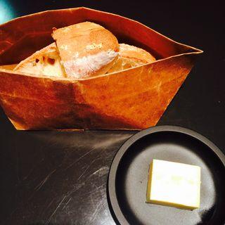 スモークバターとバゲッド(フェネトレ )