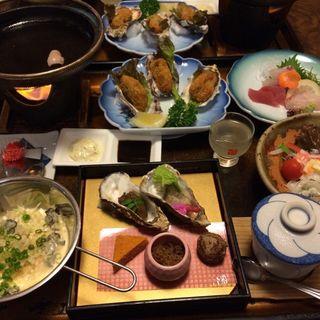カキ華膳(鹿久居荘 赤穂 )