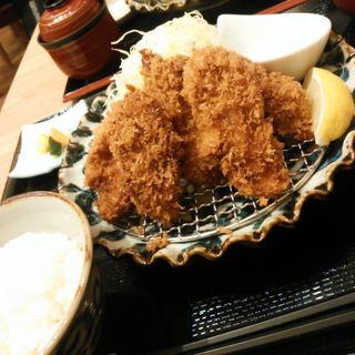 カキフライ定食(鎌倉かつ亭 あら珠 MARK IS みなとみらい店 )