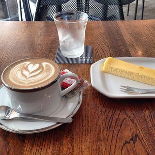 自家製チーズケーキ(プレストコーヒー (presto coffee))