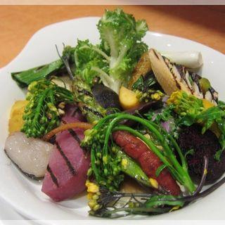 有機野菜のオーブン焼バーニャソース(クッチーナ オルターヴォラ (Cucina Ortavola))