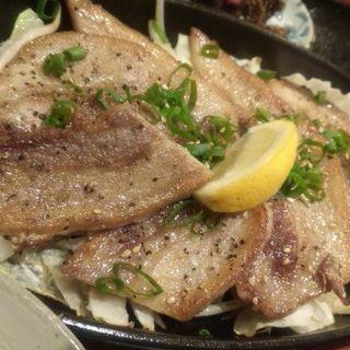 豚バラ塩焼き定食(キッチン夢や)