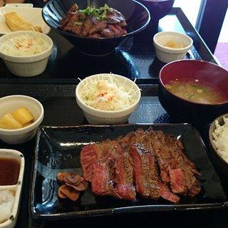 黒毛和牛A4ランクステーキ膳(すてーき丼屋 )