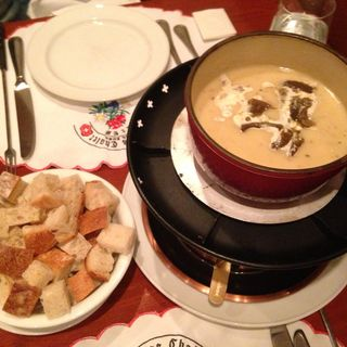 チーズフォンデュー(瑞士餐廳)