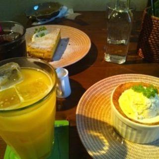 ラフランスパイスフレ+ドリンク(タイムピース カフェ (timepiece cafe))