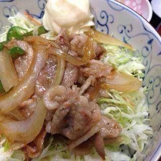 豚の焼肉丼(ごはん屋 たんぽぽ )