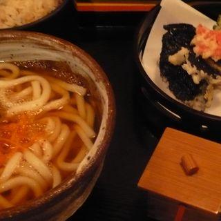 うどんと天ぷらのセット(平の家 )