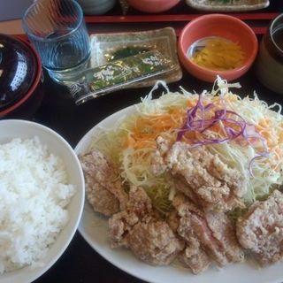 鶏の唐揚げ定食(どんじゅう )