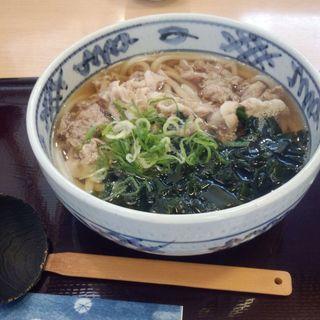 肉うどん(麺屋 元次郎 垂水店 (【旧店名】元次郎製麺))