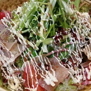 梅マヨドレッシングのサラダ(庄屋はん (しょうやはん))