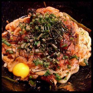鶏油そば(道しるべ )