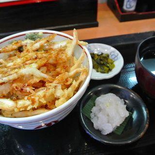 白エビ天丼刺身付(白えび亭 )