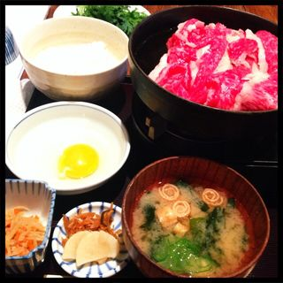 特選和牛のすき焼き(料理屋 三船 )