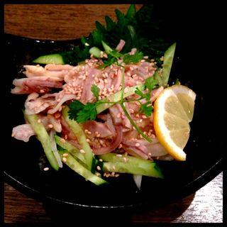 塩酢モツ(さかえや恵比寿本店)