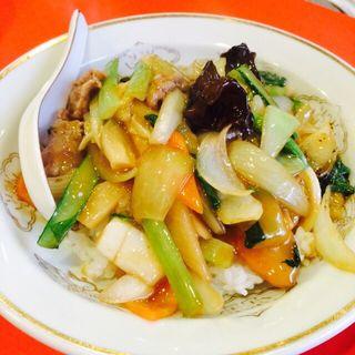 中華丼(白龍)