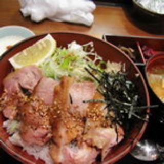 ねぎ塩鶏丼(東京 今井屋 本店 )