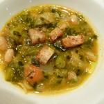 白インゲン豆と野菜のスープ