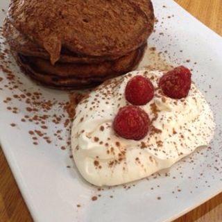 Tiramisu pancakes(Scratch Kitchen & Bake Shop )