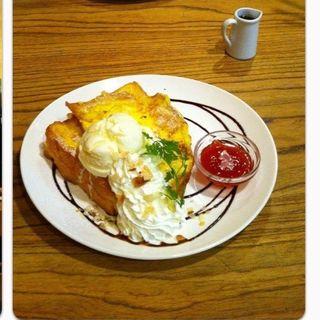 フレンチトースト(LOFTMAN CAFE)