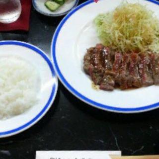 ステーキ定食(半九朗 )