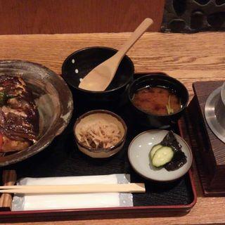 鯛のあら炊き定食(富小路 うろこ )