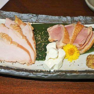 鶏スモークの盛り合わせ(とり神楽 淀屋橋店 )