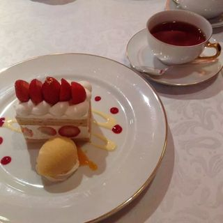 苺のショートケーキ(資生堂パーラー 銀座本店ショップ (SHISEIDO PARLOUR GINZA TOKYO))