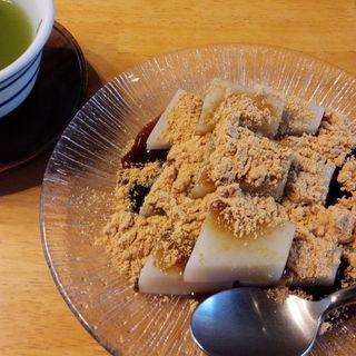 くず餅(船橋屋 亀戸天神前本店 (ふなばしや))