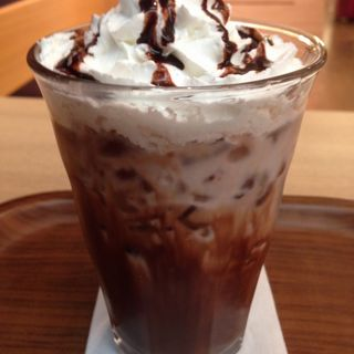 アイスチョコレート(ベーグル・アンド・ベーグル池袋店)