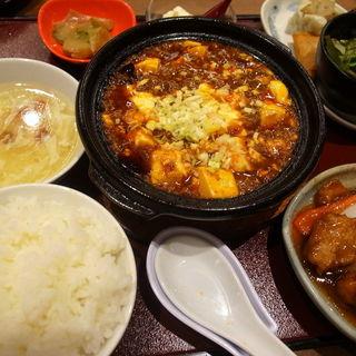麻婆豆腐定食(四川餐館 京都ポルタ店 )