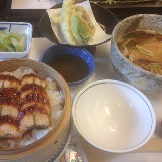 鰻セイロ天ぷら定食(がんこ 平野郷屋敷 )