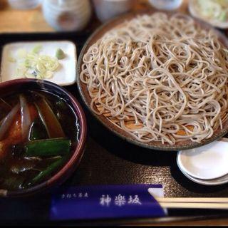 鴨南蛮そば(手打ち蕎麦 神楽坂 )