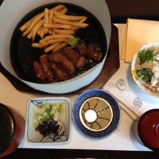 ステーキ定食(がんこ 平野郷屋敷 )