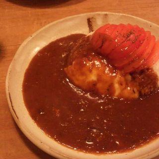 トマトとチーズのライスカレー(フジヤマプリン )