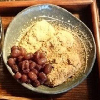 あべかわ餅(紅葉庵 (もみじあん))