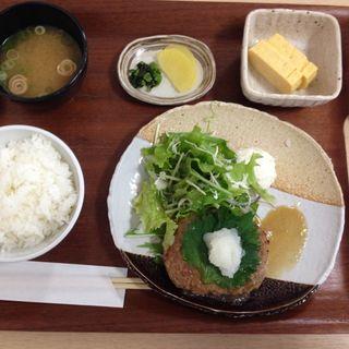 和風ハンバーグ定食(レストランロイヤル (ROYAL))