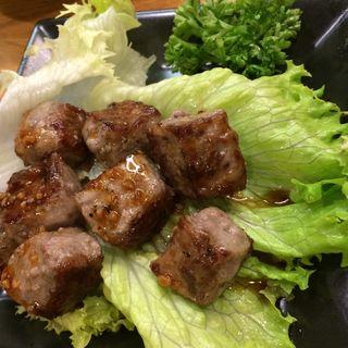 サイコロステーキ(じゃじゃ馬)