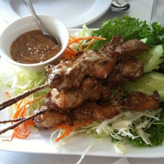 Chicken satay(Thai Lao)