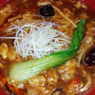 激辛酸辣湯麺(中国麺家 川崎アゼリア店)