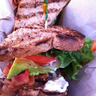 BLT & avocado sandwich(Kua Aina Sandwich)
