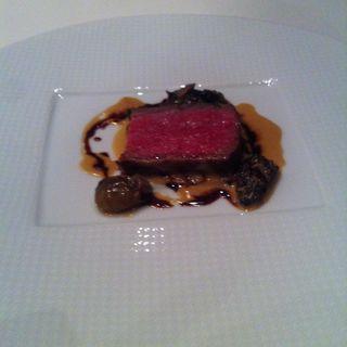 熟成肉のソテー(レストラン彩季)