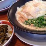 濃厚海老雲呑麺セット(ミニ)