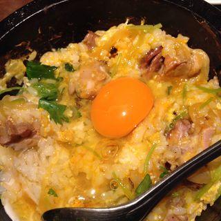 石焼親子丼ランチ(侘家古暦堂 祇園花見小路本店 (わびや これきどう))