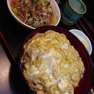 カツ丼セット(ミニおろし蕎麦)(つる庵 )